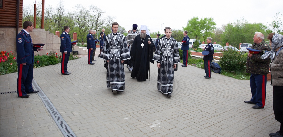 Митрополит Ростовский и Новочеркасский Меркурий посетил наш храм