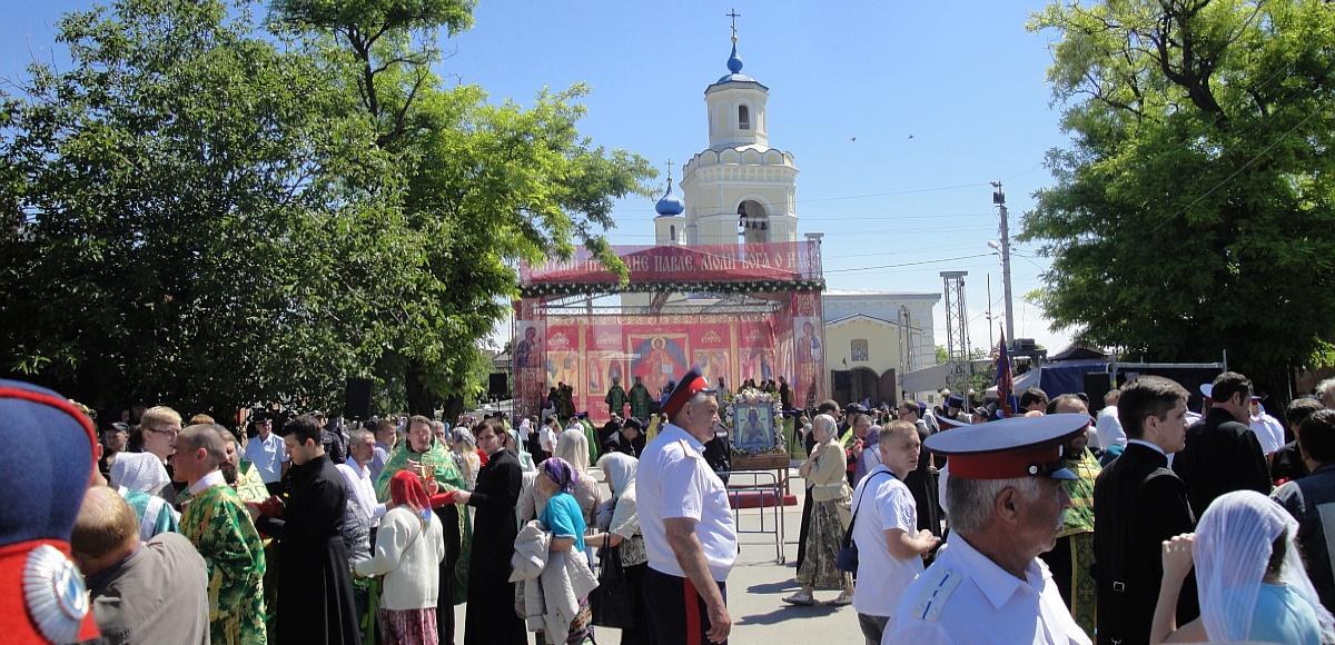 Торжества по случаю прославления праведного Павла Таганрогского